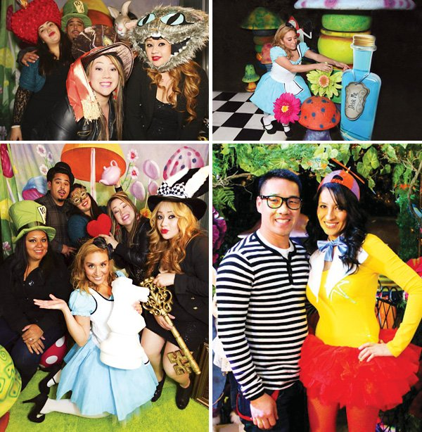 Alice in Wonderland Party Costumes