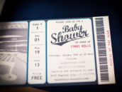 "baseball baby shower ""game ticket"" invitations"