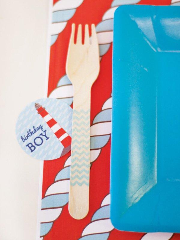 nautical birthday boy party printables