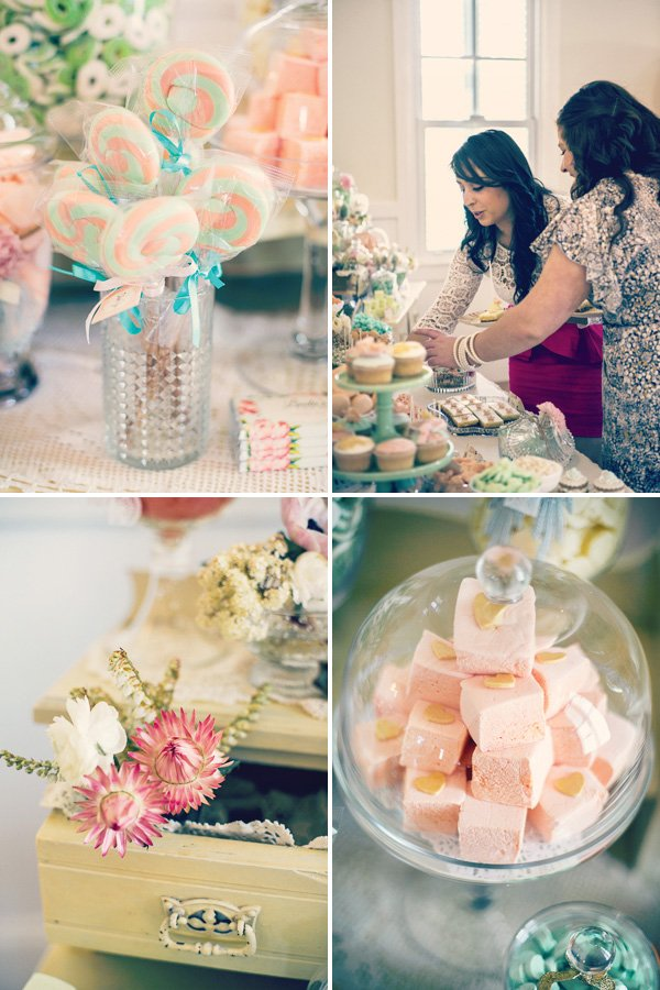 candy buffet decorations