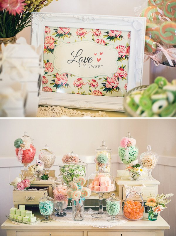 renee nina of confetti crumbs dreamed up a stunning vintage floral high tea bridal shower to celebrate bride to be linda