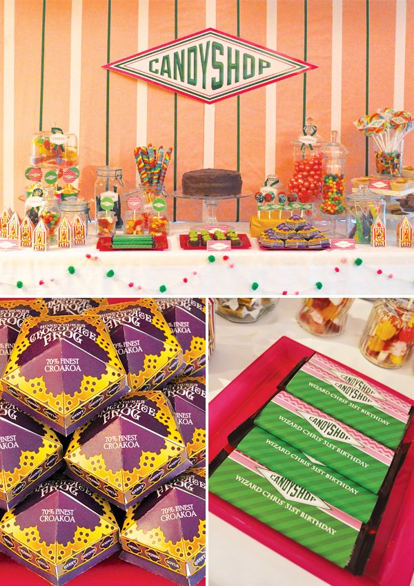 candy shop dessert table