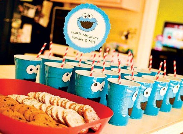 cookie monster snacks