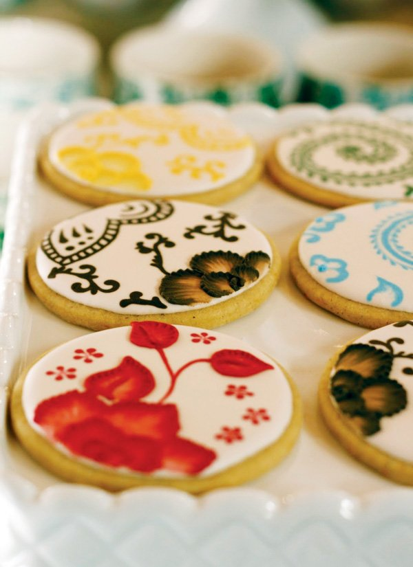 pattern sugar cookies