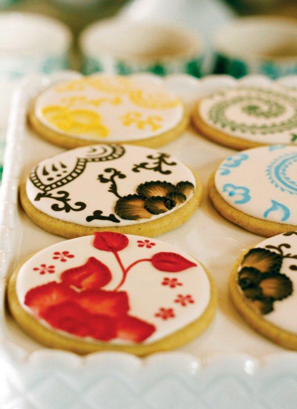 pattern sugar cookies