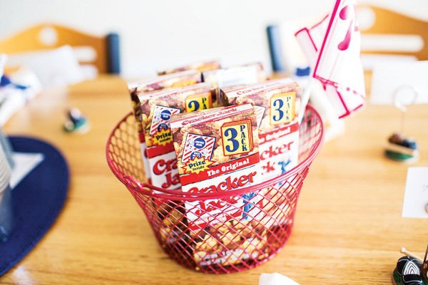 cracker jack baseball baby shower treats