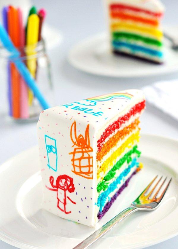 doodle-cake-rainbow-art