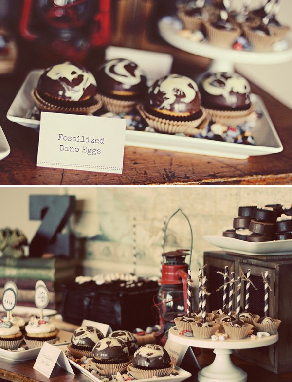 fossil cupcakes
