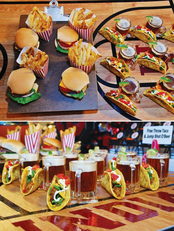 court side hamburgers