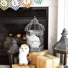 hogwarts inspired harry potter birthday party decorations