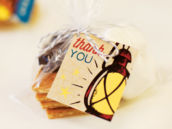 camping party s'more favors