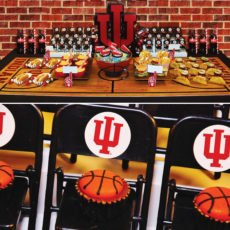 indiana state university basketball party ideas