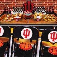 indiana state university basketball party ideas