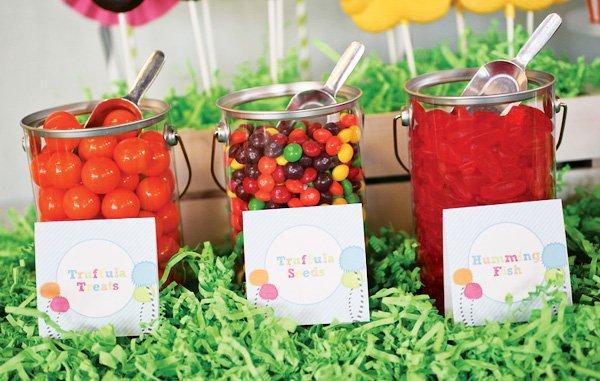 lorax theme party dessert ideas