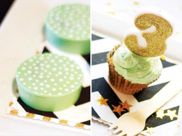 mint green desserts
