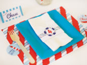 nautical kids table ideas