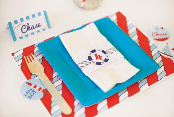 nautical kids table ideas