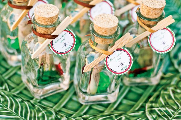 Neverland Map Message in a Bottle