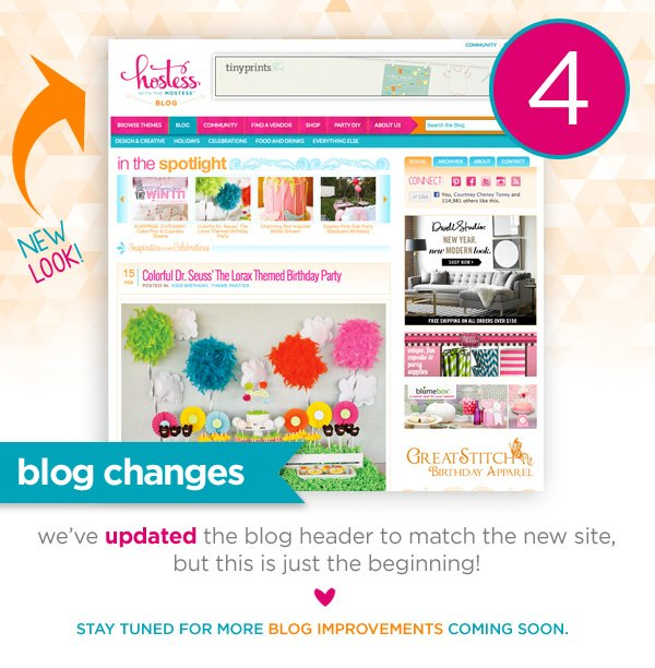 Hostess with the Mostess - Blog Updates