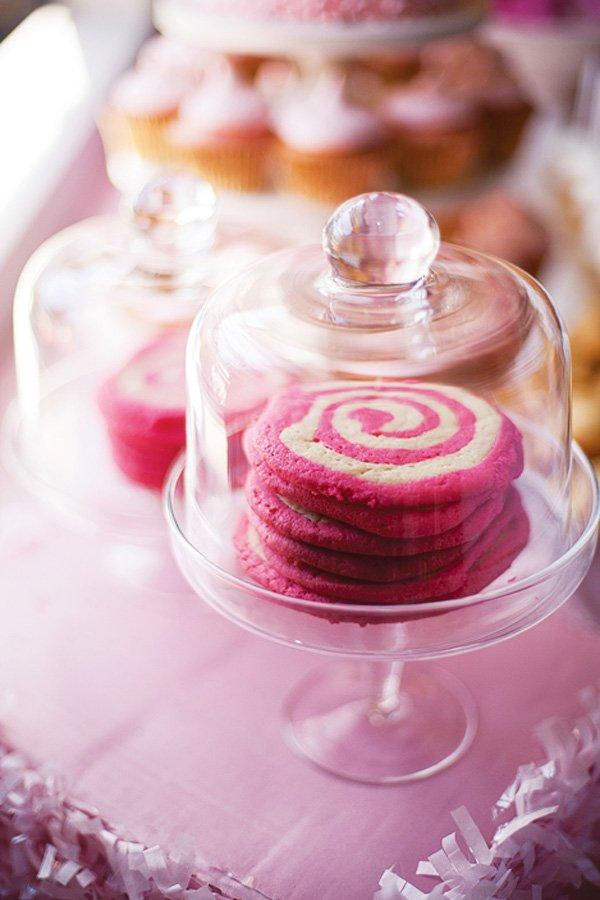 pink swirl cookies