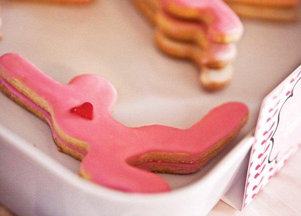 pink yoga cokies