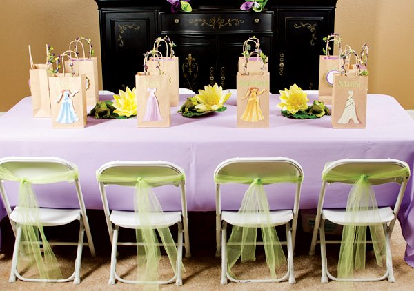 princess kids table