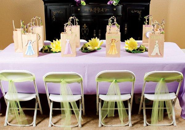 princess kids table