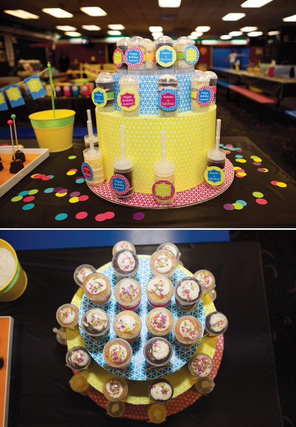 pushcake tower