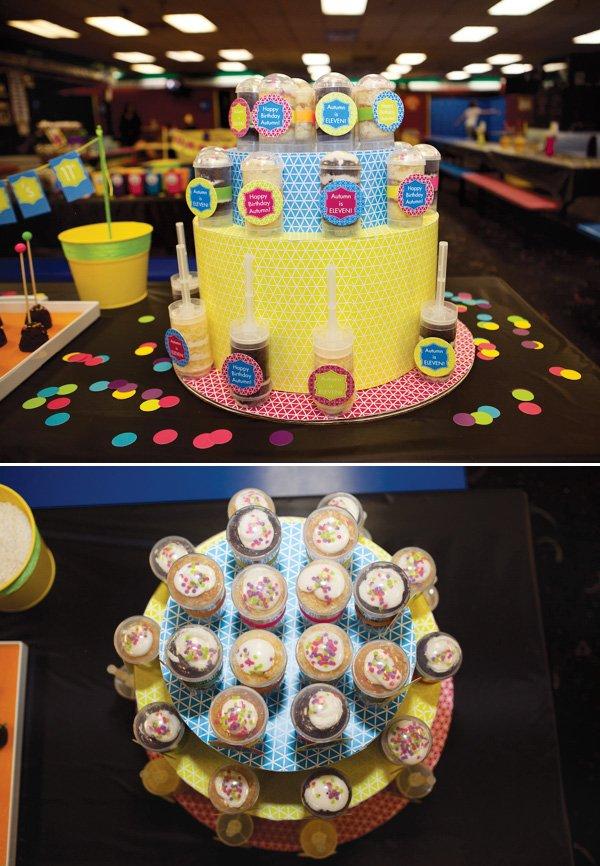 pushcake tower