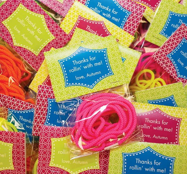 roller skate party favors