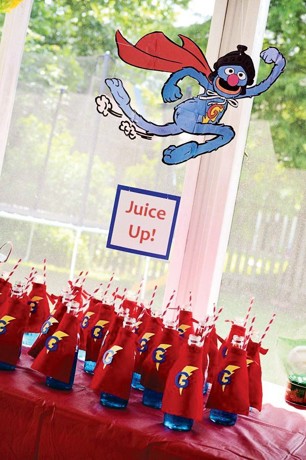 Colorful Diy Sesame Street Birthday Party Hostess With