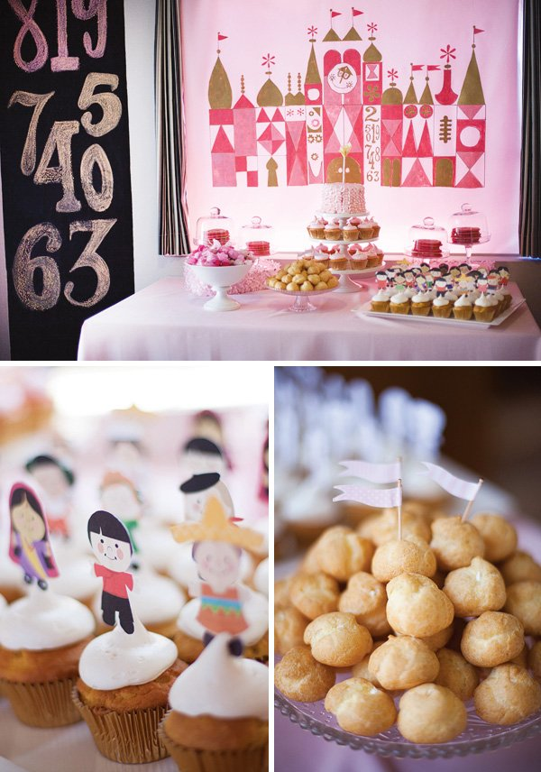 Its A Small World Party Twins First Birthday Hostess with the