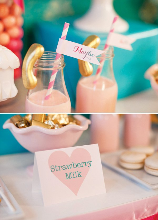 strawberry milk for valentine's day