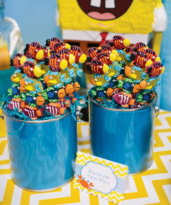 under the sea candy