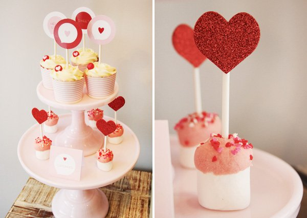 valentine marshmallows