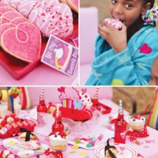 valentine spa & sleepover party