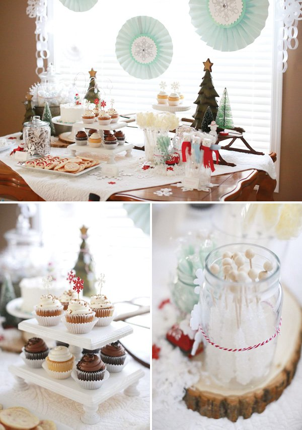 winter wonderland birthday party