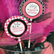 bunco bash party decorations