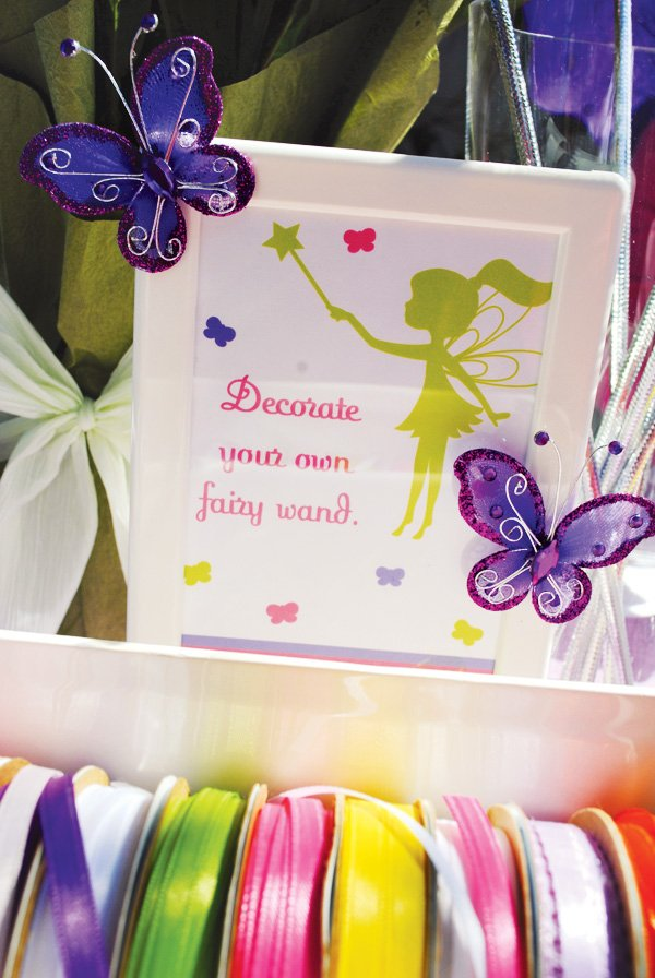decorate your fairy wand