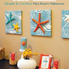 diy beach themed room makeover