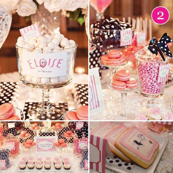 eloise dessert table