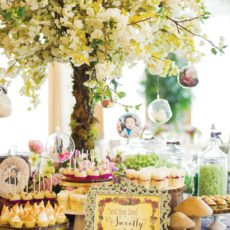 fairytale dessert table