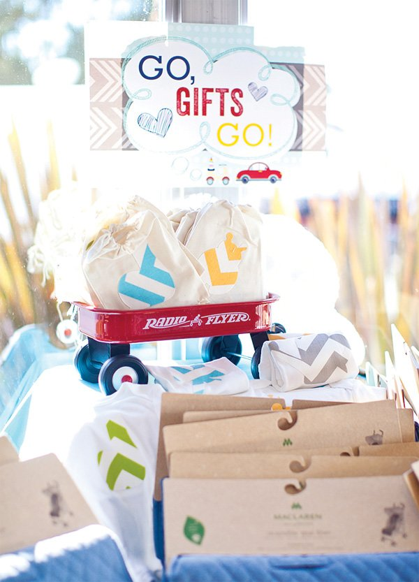 gift station at operation shower la jolla