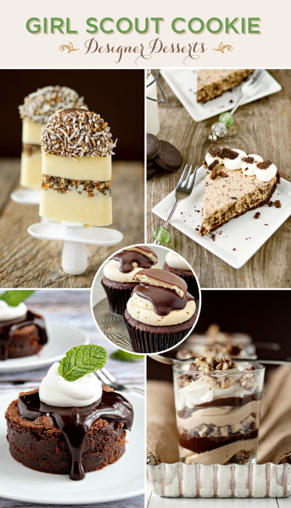 Girl Scout Cookie Dessert Recipes