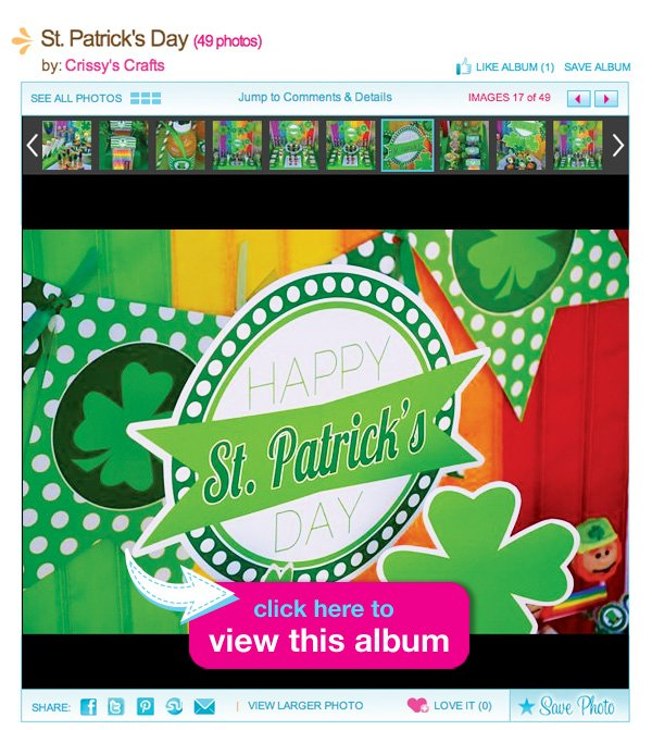 rainbow st. patrick's day party
