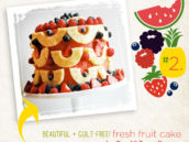 fresh fruit cake recipe from Pen 'N Paperflowers