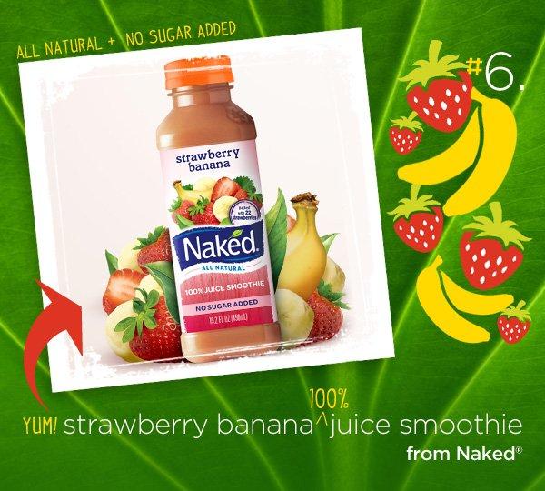 strawberry banana naked juice smoothie