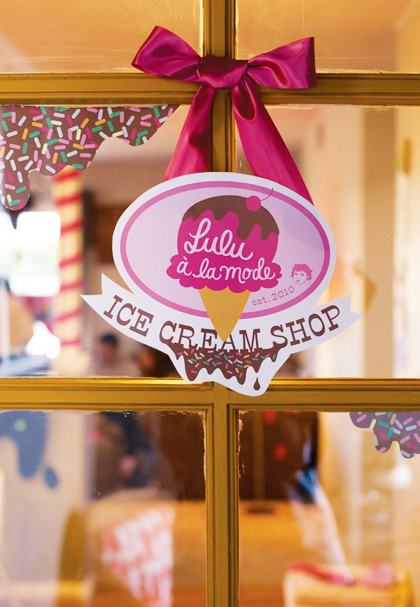 ice cream shop printable sign