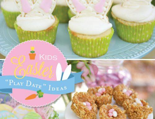 "Cute Kids Easter ""Play Date"" Ideas"