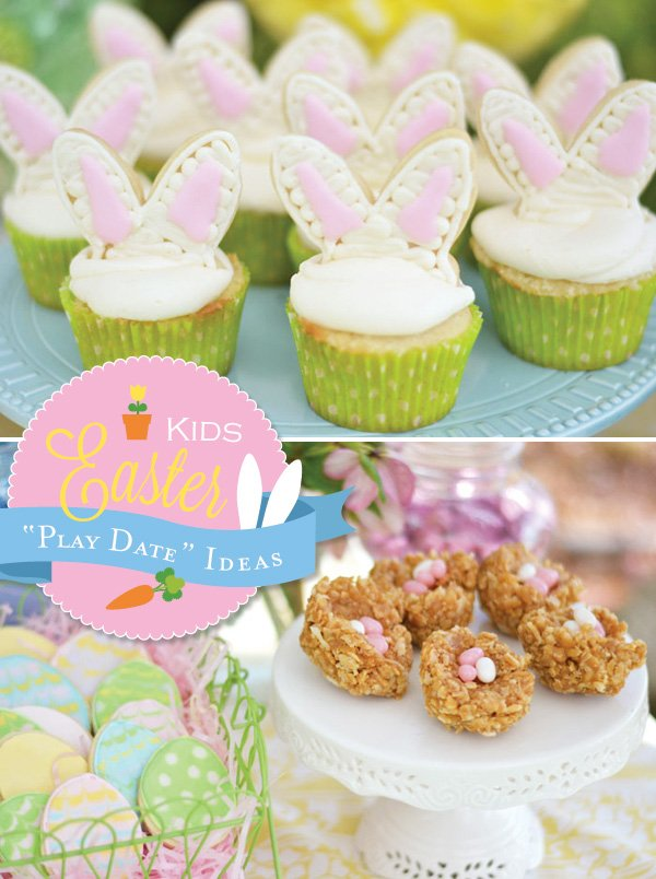 "Cute Kids Easter ""Play Date"" Ideas"